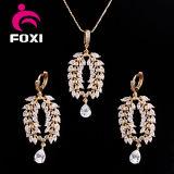 De estilo victoriano conjunto de joyería pendiente del collar de la manera de las mujeres