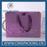Romantisches High End Purple Paper Bag für Wedding Souvenir (CMG-MAY-020)