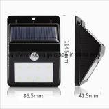 Sensores de movimiento del cuerpo exterior Solar Lampara de pared