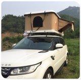 トレーラーのための油圧堅いシェル車の屋根の上のテント
