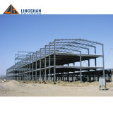 Tettoia del magazzino del gancio della struttura d'acciaio