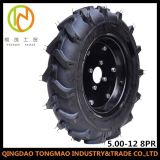 Pneu 5.00-12 agricole de Chine le pneu du tracteur (R-1) avec DOT la certification