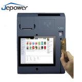 Jepower T508 10inch todo em uma ferragem da posição com impressora/WiFi/3G/Nfc/Camera/Bt/Magcard e leitor do CI-Cartão
