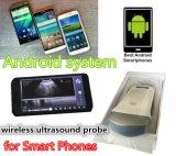 Varredor portátil do ultra-som do telefone esperto veterinário com sinal de WiFi