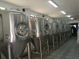 Micro- Hotel/Micro- van de Apparatuur van het Bierbrouwen van het Koper van het Ontwerp van de Staaf/van de Bar de Rode Apparatuur van de Brouwerij