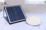 lucarne 15W solaire avec le détecteur radar pour l'éclairage de salle de séjour avec l'adaptateur de pouvoir pour s'allumer jour et nuit