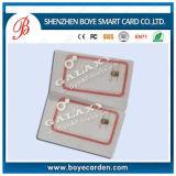 Het plastic Slimme Contact van de Spaander RFID/IC Levering de Zonder contact van de Kaart