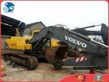使用された掘削機のVolvo Ec210bのクローラー油圧掘削機Turbocharged/Aftercooledの107kw元エンジンによって使用される内燃