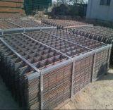 Beton, der gewelltes Stahlstab-Ineinander greifen/verformtes Stahlstab-Ineinander greifen verstärkt