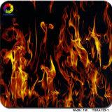 Ширина 1 м конструкция пламени Aqua Print гидрографических съемок фильма