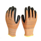 Duable 13G Windung-Latex-überzogene Handschuhe