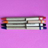 crayon lecteur de bille de point de 0.7mm avec le papier d'Eco et le matériau en bois