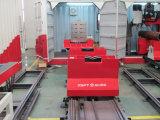 Het vervoeren van het Spoor van het Systeem (Spoor) & Karretje (Vervoer)