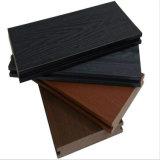 Plancher composé en plastique en bois de coextrusion extérieure