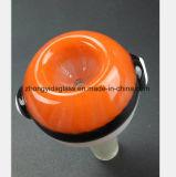 Rode Mannelijke Mond 14.5mm, 18.8mm de Waterpijp van het Glas van Montage