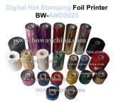 Máquina quente manual da impressora da folha de carimbo de Digitas Flatted do plástico de vinil do plutônio do PVC da memória da impressão da última vez