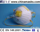 Лицевой щиток гермошлема Ce респиратора от пыли Ffp1 с вздыхателем высокого качества