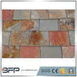 Multi-Color Natural pizarra para tejados / Revestimiento Revestimiento Azulejos