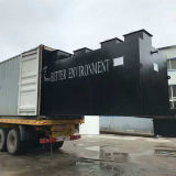Überschüssige Wasseraufbereitungsanlage, Tiefbaukrankenhaus-Abwasser-Behandlung-Einheit mit Desinfektion