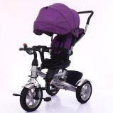 3명의 중국에 있는 고무 바퀴 아이 세발자전거 아기 세발자전거 도매