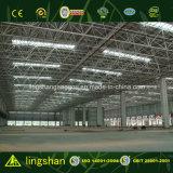 Estructura de metal de bajo coste Taller Edificio de estructura de acero prefabricados