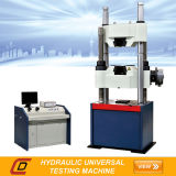 Machine de test universelle hydraulique de Waw-600c avec des engrenages à vis sans fin