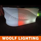방수 재충전용 나이트 클럽 LED 플라스틱 바 카운터