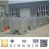 De 1000 litres Réservoir en acier inoxydable avec fond conique