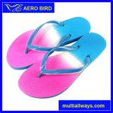 Sandalo del pistone di modo con le doppie cinghie di colore per la ragazza
