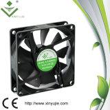 Охлаждающий вентилятор DC горизонтальных воздушных потоков Xj8020h 80mm осевой