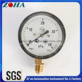 Diamètre de pression de 63 mm avec élément de capsule Boîtier en acier noir