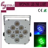 7/9 / 12PCS 4in1 LED PAR Chargeur avec batterie