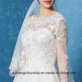 Bello abito di cerimonia nuziale Backless elegante di Applique del vestito da cerimonia nuziale