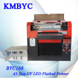 Impresora plana ULTRAVIOLETA levantada de la caja A3 del teléfono del efecto