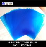 Пленка голубого просвечивающего PE защитная для зеркала