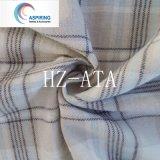 100%Cotton 털실에 의하여 염색되는 32X32 Flannel 직물