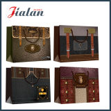 Weinlese-Entwurfs-gute Qualität passen preiswerte KleinpapierEinkaufstasche an