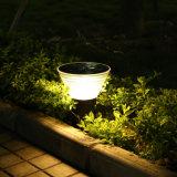 Indicatore luminoso decorativo solare di nuovo stile per il giardino del prato inglese esterno