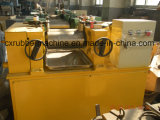 Máquina abierta del molino de mezcla del caucho del rodillo del laboratorio dos