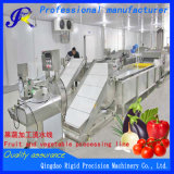 Máquinas para alimentar material de lavagem, corte a linha de processamento