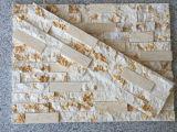 داخليّة و [إإكستريور ولّ] زخرفة ثقافة مادّيّة اصطناعيّة يعرض جدار حجارة