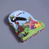 Рождество ягнится коробка подарка головоломки упаковывая бумажная форменный