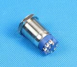 IP67 de outre de la vis dans le commutateur de bouton poussoir
