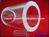Fuego el espesor de pared polaco de tubo de vidrio de sílice fundida