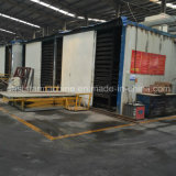 Ligne de production de dalle semi-automatique à quartz avec machine de presse