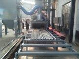Con pulizia della superficie del tubo d'acciaio macchina di granigliatura
