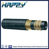 Boyau en caoutchouc R4 d'aspiration hydraulique à haute pression