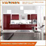 Küche-Schrank-Möbel des neuen Entwurfs-2017 moderne hohe glatte hölzerne