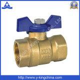 Fabrik-preiswerter Preis-Messingkugelventil (YD-1029)