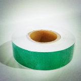 La couleur verte Honeycomb bande réfléchissante en PVC pour le trafic PU Post